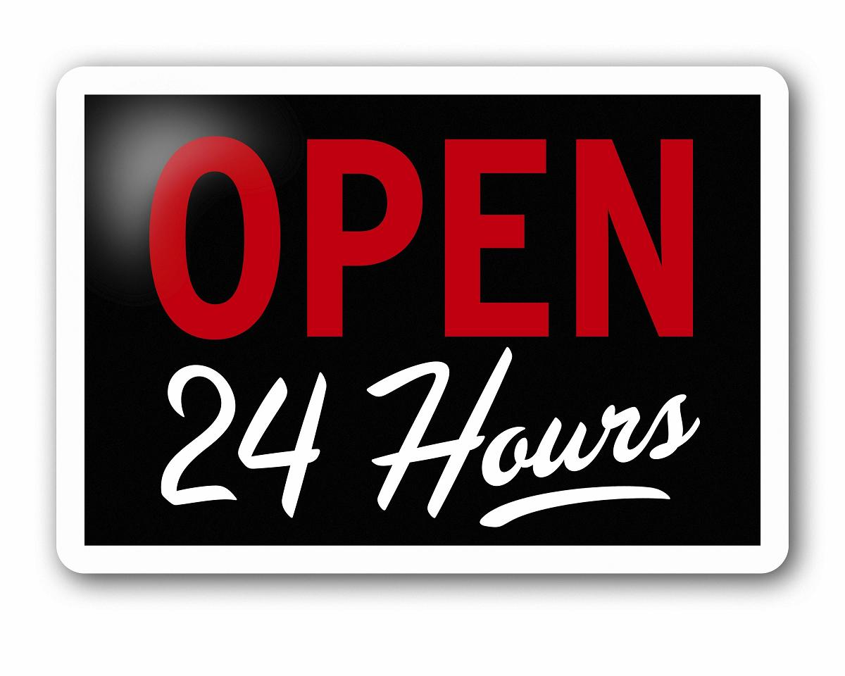 open 24 hours for Service in Palmdale